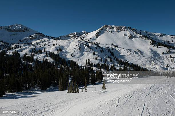 Alta Ski Resort near Salt Lake City in Utah USA