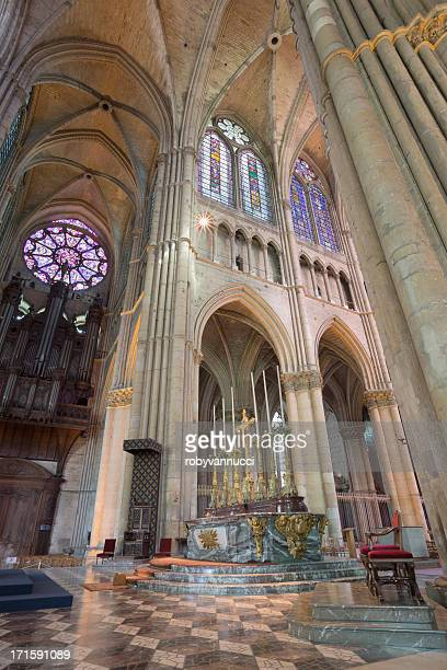 Altar of Reims Notre-Dame Cathedral, France