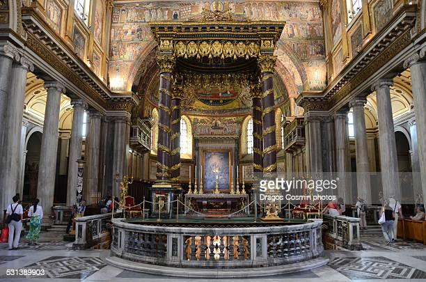 Altar of Santa Maria Maggiore