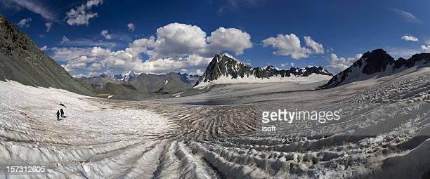 Altay motives. Nemucky glacier.