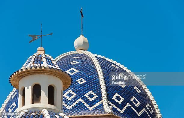 Altea church roof