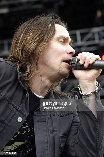 Alter Bridge during Download Festival 2005 Day 2 at Donington Park in Castle Donington Great Britain
