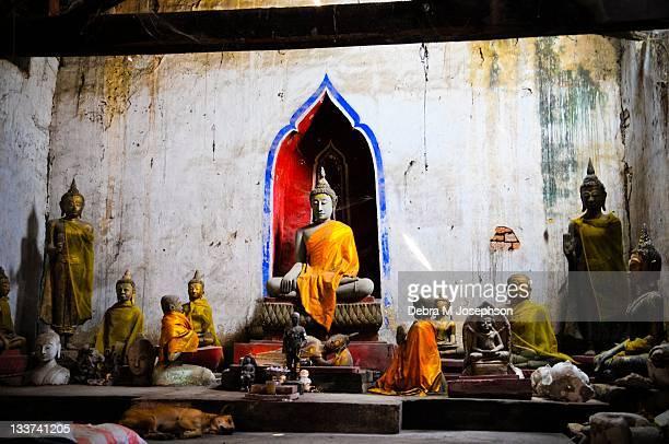 Alter of Wat Khunsan
