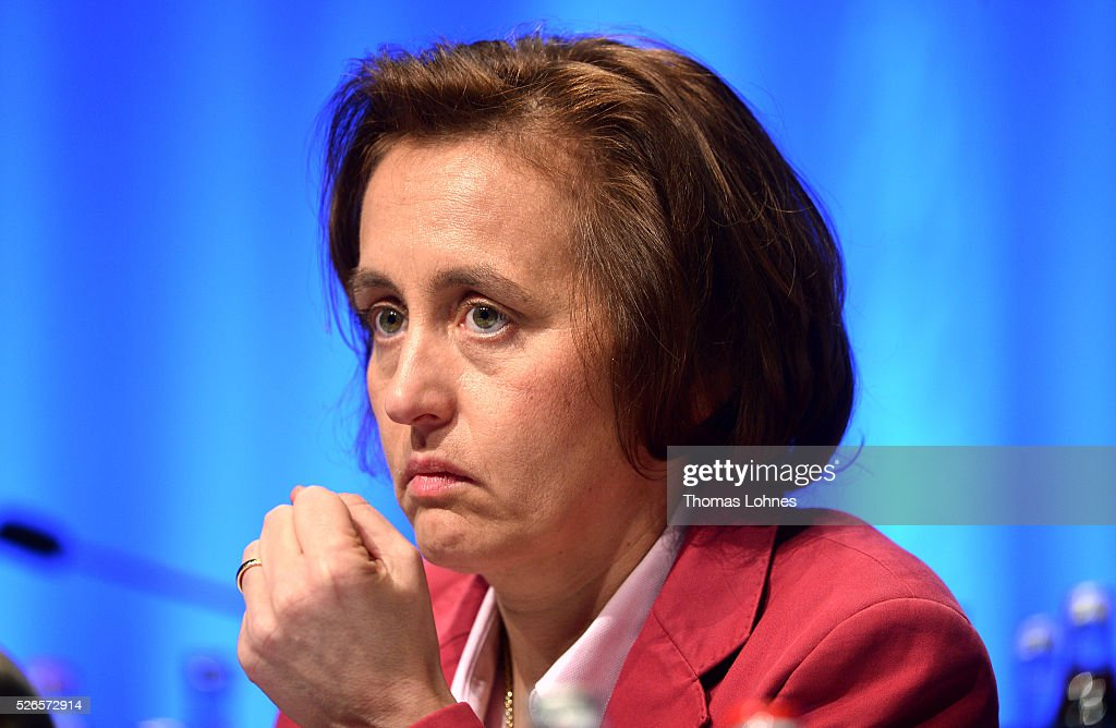Alternative fuer Deutschland (AfD) co-deputy head Beatrix von Storch pictured at the party's federal congress on April 30, 2016 in Stuttgart, Germany. The AfD, a relative newcomer to the German political landscape, has emerged from Euro-sceptic conservatism towards a more right-wing leaning appeal based in large part on opposition to Germany's generous refugees and migrants policy. Since winning seats in March elections in three German state parliaments the party has sharpened its tone, calling for a ban on minarets and claiming that Islam does not belong in Germany.