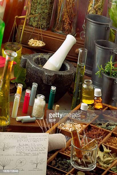 Alternative Medicine Homeopathy Phytotherapy Essential Oils