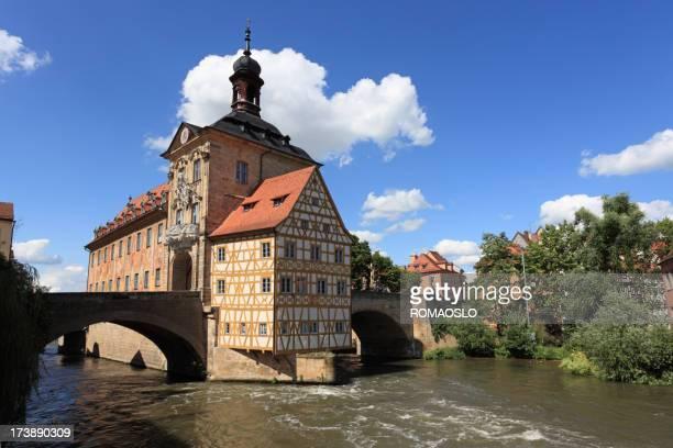Ehemalige Old city hall (Rathaus) in Bamberg -Bavaria Deutschland