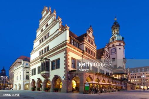 アルテス Rathaus 旧市庁舎ライプチヒは、ドイツサクソニー