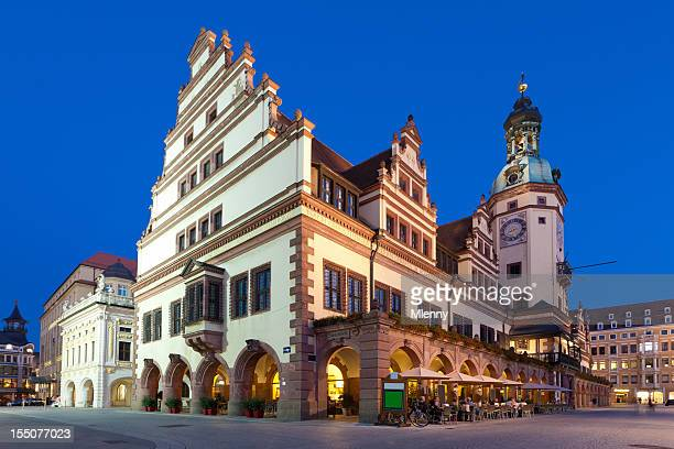 Altes Rathaus Old City Hall Lipsia Sassonia Germania