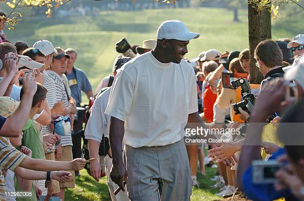 Although Michael Jordan didn't sign many autographs he interacted with fans on a very personal level touching and talking with them throughout his...