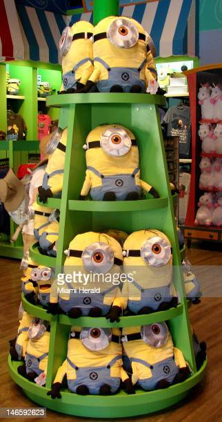 Although the Despicable Me ride won't open until July 2 at Universal Studios the gift shop through which riders will exit is up and running with all...