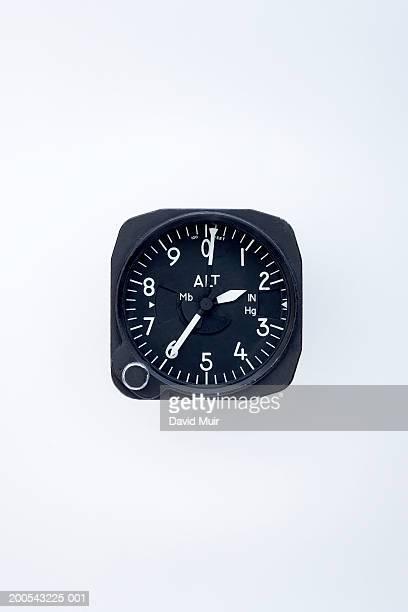 Altitude dial, close-up