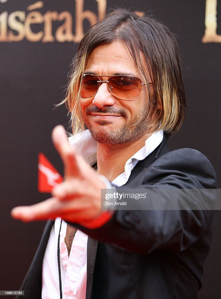 Altiyan Childs poses during the Australian premiere of 'Les Miserables' at the State Theatre on December 21, 2012 in Sydney, Australia.