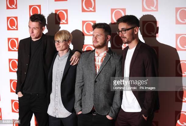 AltJ at the 2012 Q Awards at the Grosvenor House Hotel Park Lane London