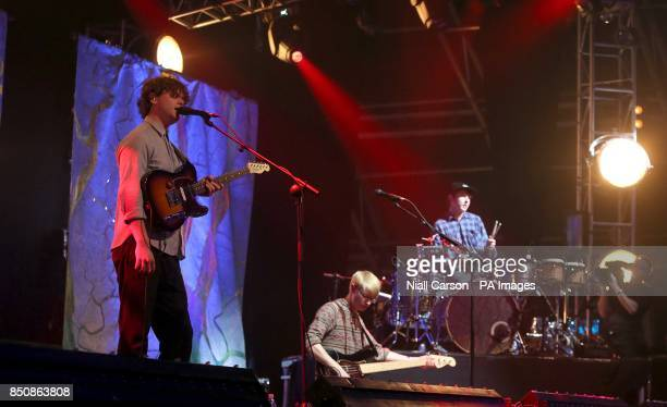 AltJ performs at Radio One's Big Weekend at Ebrington Square in Londonderry Northern Ireland