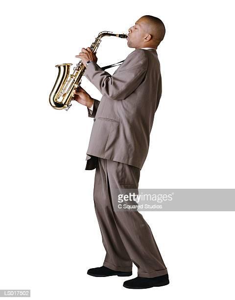Alto Saxophone Player