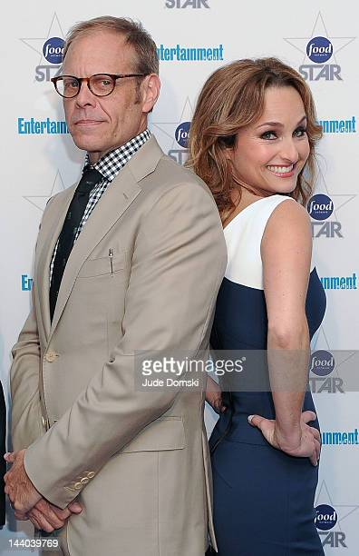 Alton Brown and Giada De Laurentiis attend A Night With The Stars of Food Network at 79 Crosby Street on May 8 2012 in New York City