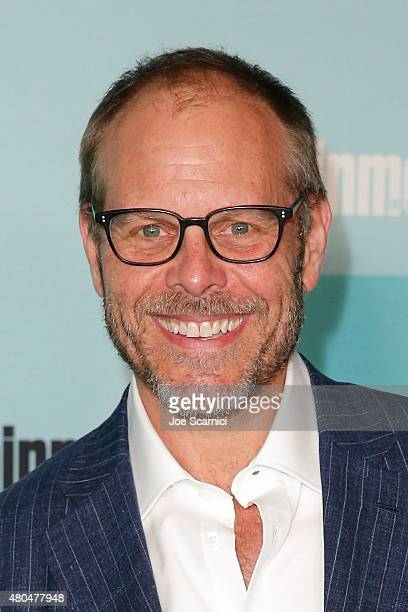 Alton Brown attends ComicCon International 2015 Entertainment Weekly ComicCon Celebration at Float at Hard Rock Hotel San Diego on July 11 2015 in...