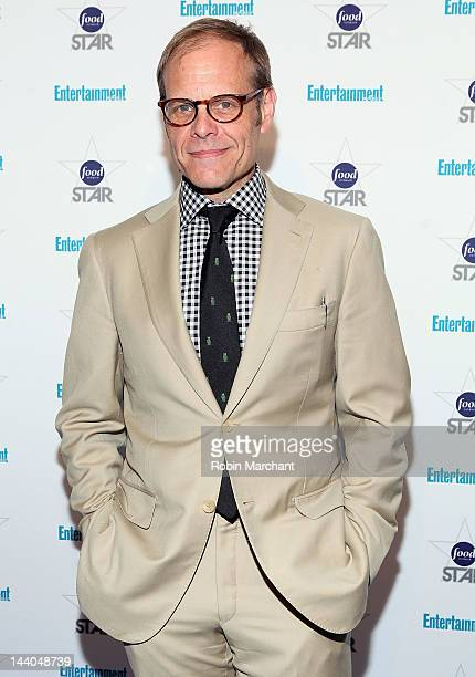 Alton Brown attends Entertainment Weekly's 'A Night With The Stars Of Food Network' Event at Crosby Street Hotel on May 8 2012 in New York City