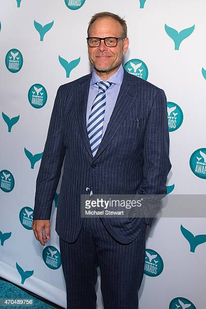Alton Brown attends the 2015 Shorty Awards at TheTimesCenter on April 20 2015 in New York City