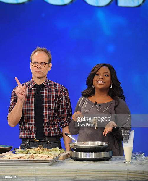 THE VIEW Alton Brown was a guest on 'THE VIEW' TUESDAY OCT 6 2009 on the ABC Television Network SHERRI