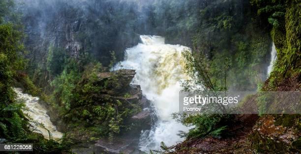 D'Alton Falls at Overland track, Tasmania
