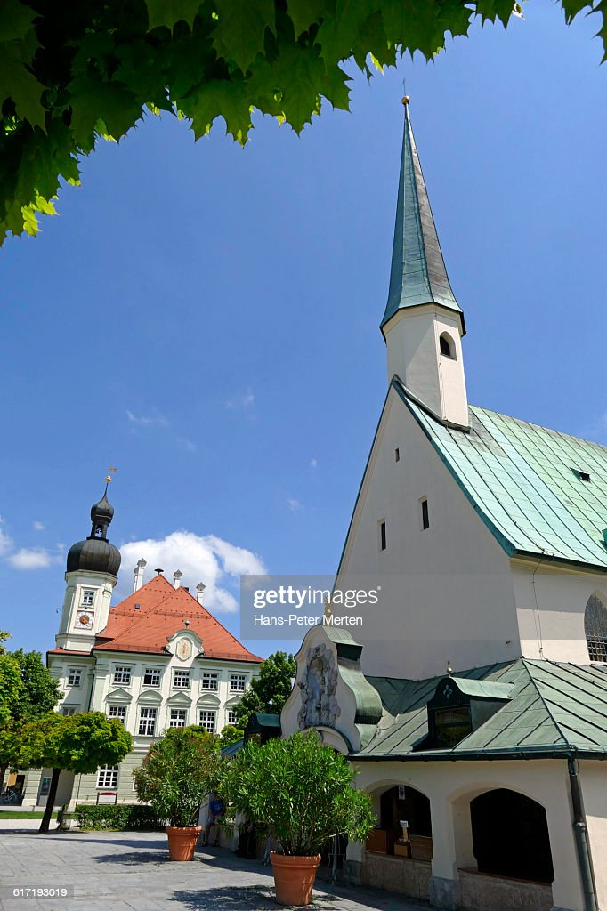 Altötting, Chapel of Grace, Kapellplatz : Stock Photo