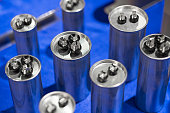 Aluminium can type Film Capacitors