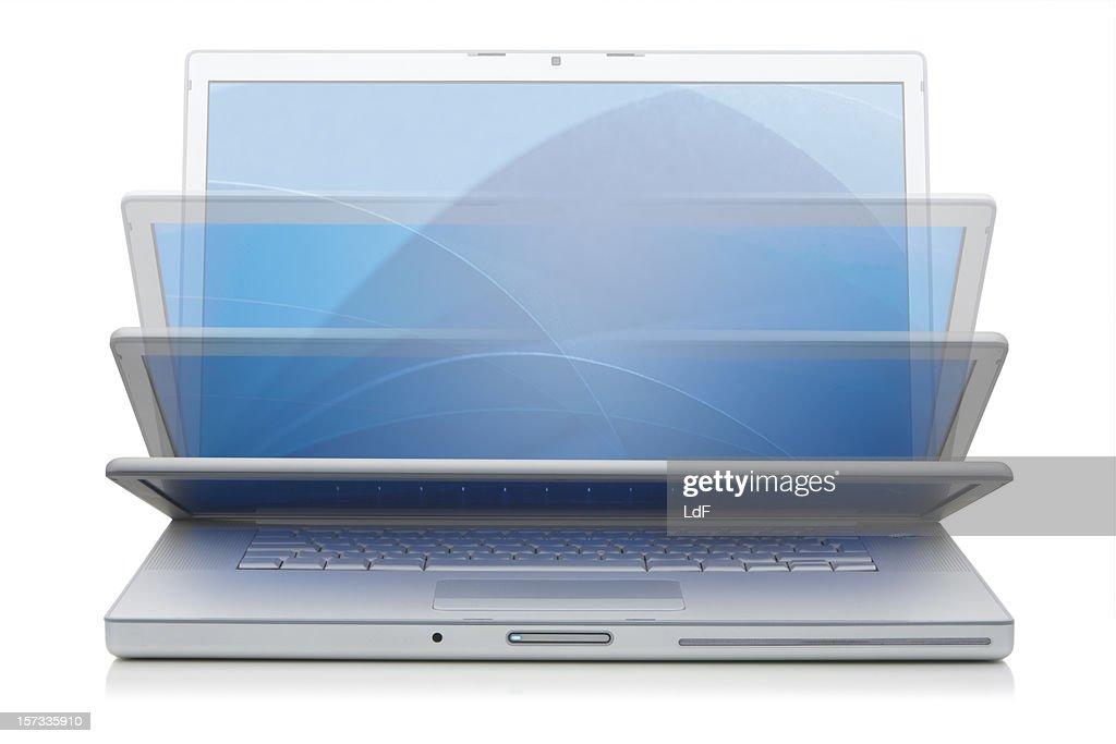 Aluminium Laptop Closing
