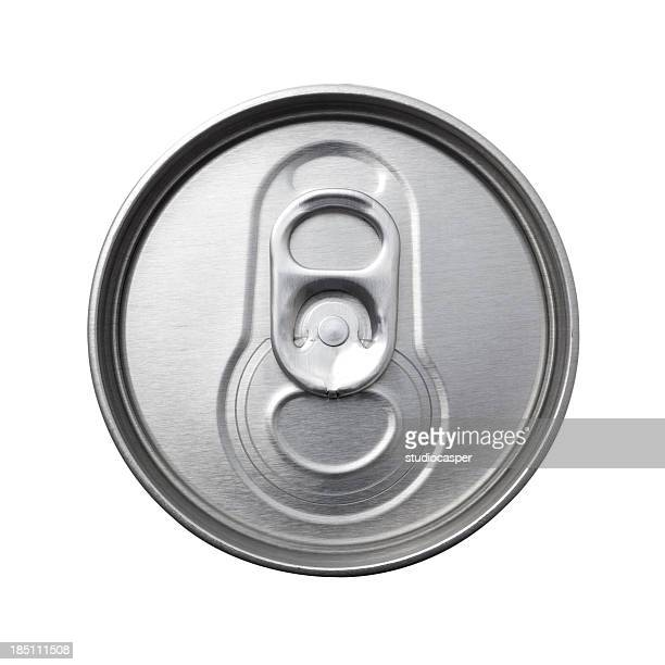 aluminum can top macro