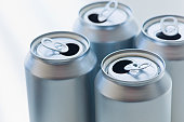 Aluminum cans for recycling