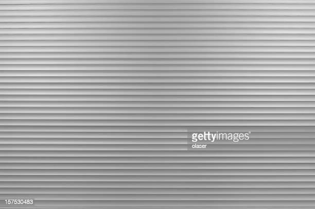 Aluminum closed shop door