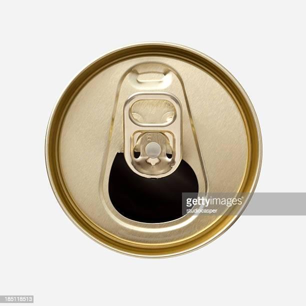 Alluminio Drink possono alto con Apertura ad anello