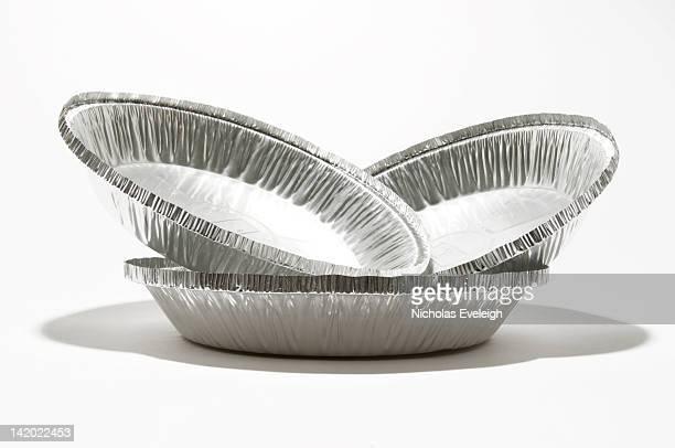 Aluminum pie trays