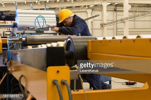 Aluminum Roll : Stock Photo