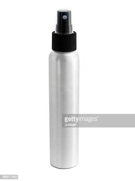 Aluminum Spray Bottle Isolated