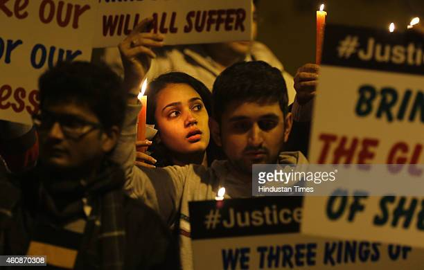 Alumni of the Sherwood School hold up candle light march to demand justice for Shaan Prajapati Sherwood College student who died of septicemia due to...