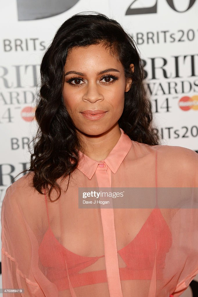 <a gi-track='captionPersonalityLinkClicked' href=/galleries/search?phrase=Aluna+Francis&family=editorial&specificpeople=9571340 ng-click='$event.stopPropagation()'>Aluna Francis</a> attends The BRIT Awards 2014 at The O2 Arena on February 19, 2014 in London, England.
