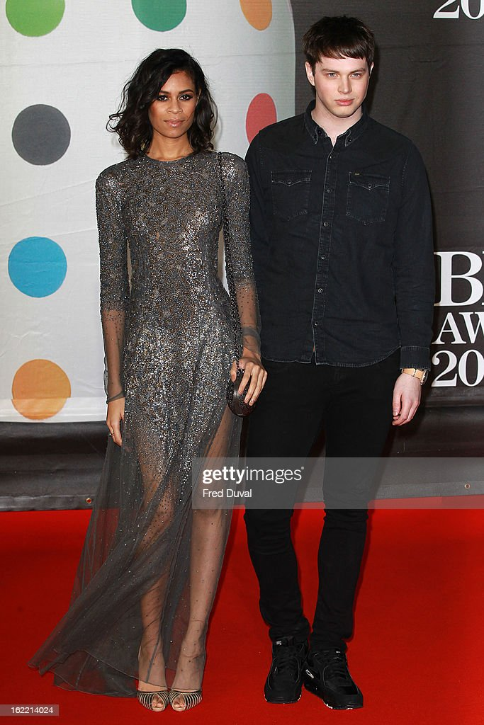 Aluna Francis attends the Brit Awards at 02 Arena on February 20, 2013 in London, England.