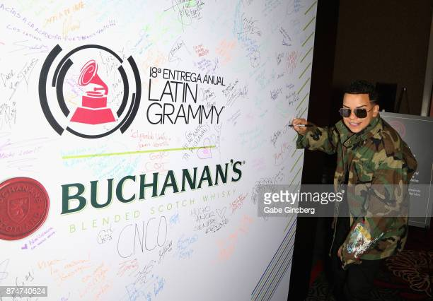 Alvarez attends the gift lounge during the 18th annual Latin Grammy Awards at MGM Grand Garden Arena on November 15 2017 in Las Vegas Nevada