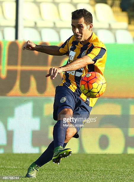 Alvarez Rafael Marquez of Hellas Verona FC in action during the Serie A match between Carpi FC and Hellas Verona FC at Alberto Braglia Stadium on...