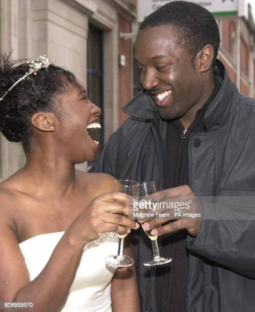 Alvarine Samuel and her fiance Jason Lee after she made a wedding proposal at the National Wedding Show in London It is believed this tradition was...