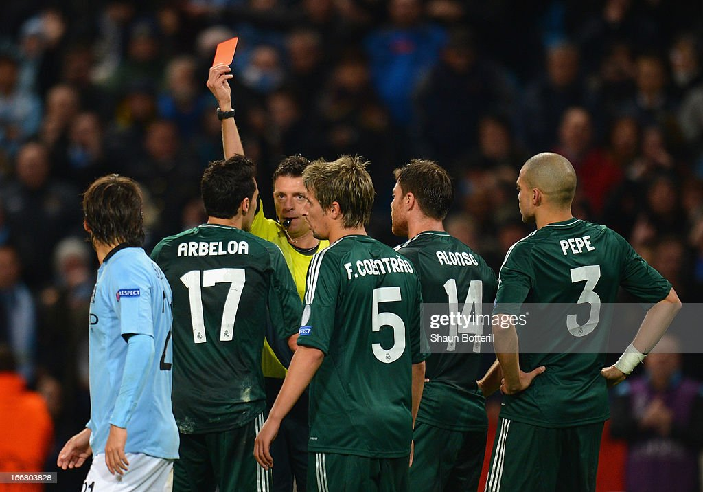 Manchester City FC v Real Madrid CF - UEFA Champions League : News Photo