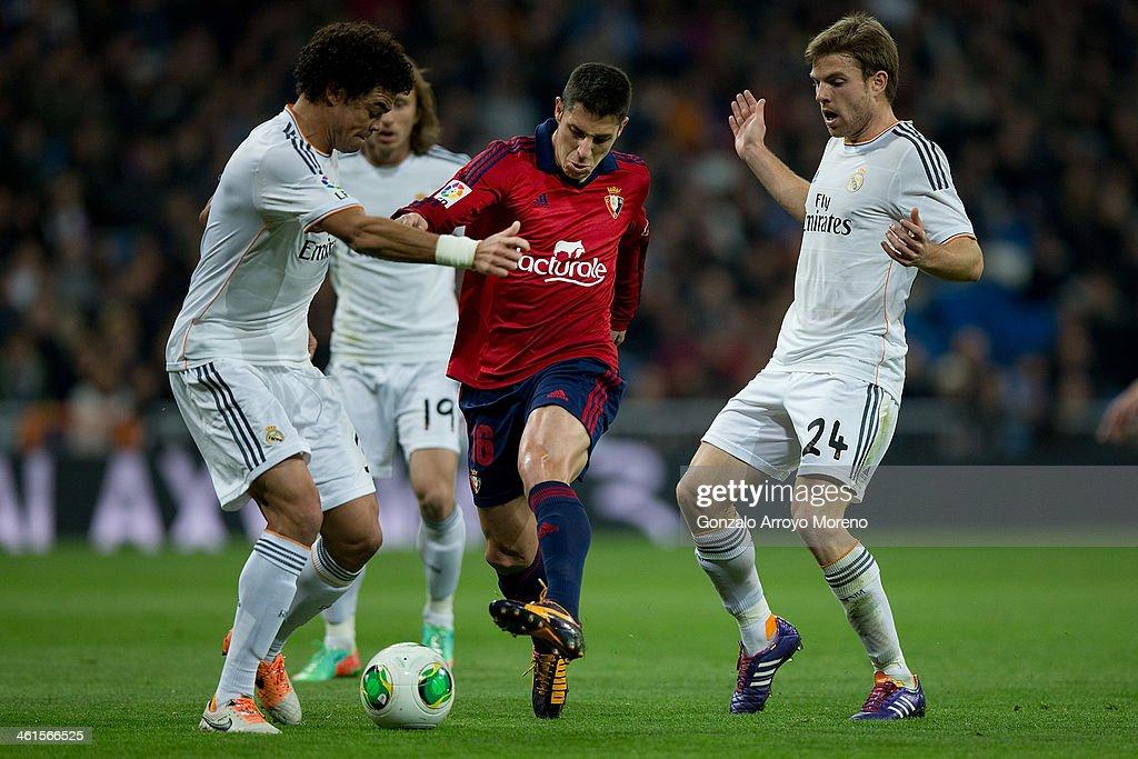 Real Madrid v Osasuna - Copa del Rey: Round of 16