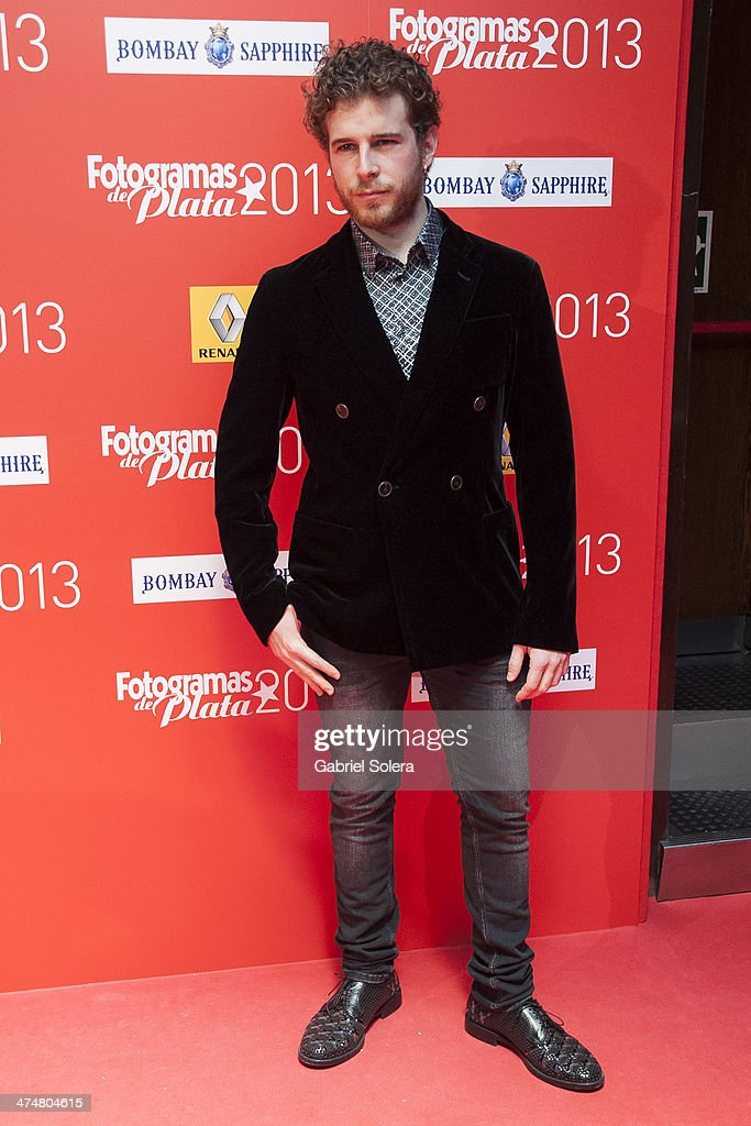 Alvaro Cervantes attends the 'Fotogramas Awards' 2013 at Joy Slava on February 24, 2014 in Madrid, Spain.