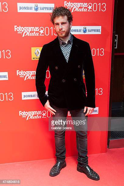 Alvaro Cervantes attends the 'Fotogramas Awards' 2013 at Joy Slava on February 24 2014 in Madrid Spain