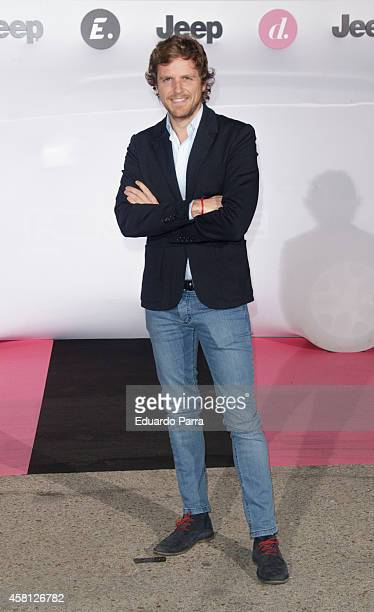 Alvaro de la Lama attends Energy and Divinity TV channels party photocall at Principe Pio train station on October 30 2014 in Madrid Spain