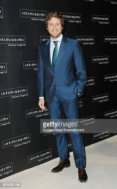 Alvaro de la Lama attends 'Intimissimi' 20 Years Anniversary photocall on November 17 2016 in Madrid Spain