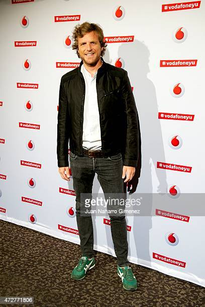 Alvaro de la Lama attends Maldita Nerea concert during Vodafon Yu Music Shows at La Riviera on May 9 2015 in Madrid Spain