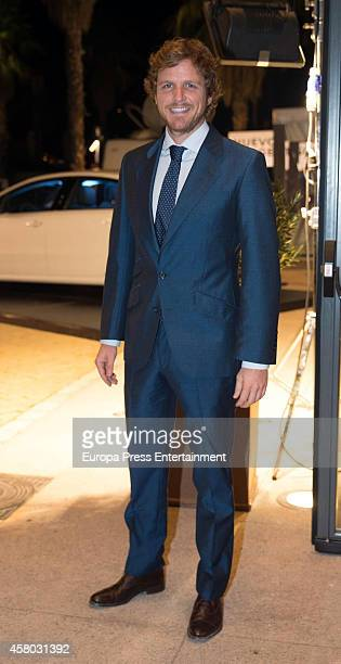 Alvaro de la Lama attends Men's Health 2014 Awards at Goya Theatre on October 28 2014 in Madrid Spain