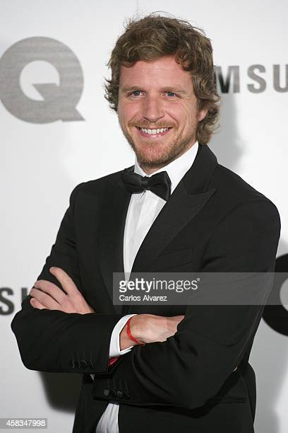 Alvaro de la Lama attends the GQ 2014 Men of the Year awards at the Palace Hotel on November 3 2014 in Madrid Spain